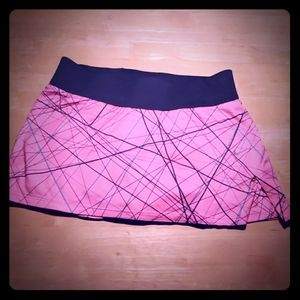 Nike Dri-Fit Pink and Grey Running Skirt